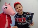 Peppa Pig Giant Toys & SuperHero LEGO Batman LED Lite Keyrings Review