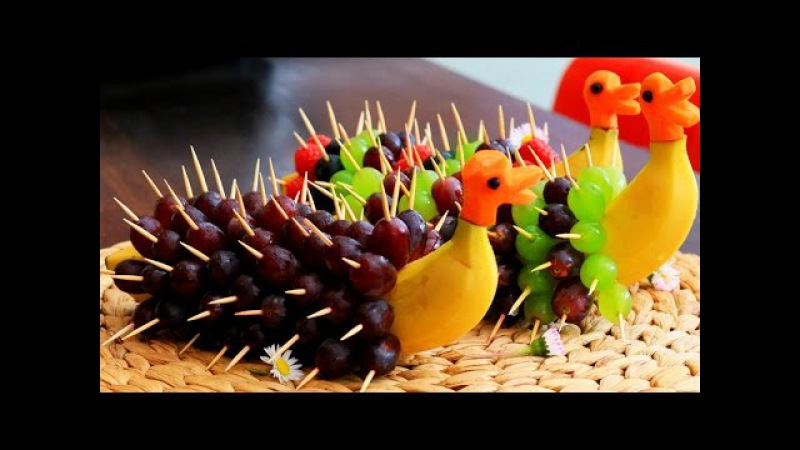 Art In Banana Decoration | Banana Art | Fruit Carving Banana Garnishes | Italypaul.co.uk