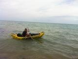Испытание надувного каяка Intex Explorer K2