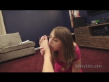 Kate England, Nickey Huntsman [HD 720, SubbyGirls, foot fetish, pov, feet, teen]