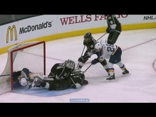 Лос-Анджелес - Сент-Луис 5-1. . Обзор матча НХЛ