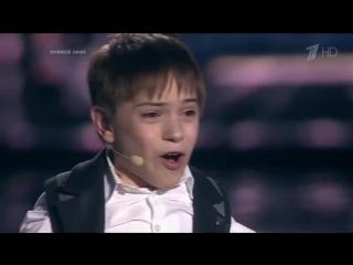 Данил Плужников с песней - Я СВОБОДЕН. Голос Дети -финал 2016