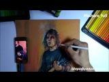Металкор цветными на тонированной бумаге Mondeluz гитарист Лениногорск Татарстан