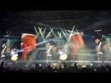 Metallica in Seoul, Gocheok Sky Dome, 11 Jan 2017 # Intro, Hardwired, Atlas Rise!