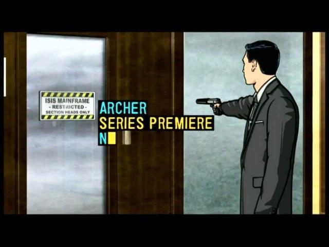 Спецагент Арчер | Archer Trailer