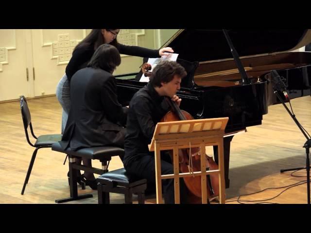 Rachmaninov. Cello sonata. Alexander Buzlov, Karen Kornienko
