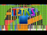 Black MIDI Synthesia Tetris Theme A Final Impossible Remix 90,000 notes ~ Kanade Tachibana