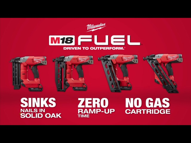 Milwaukee® M18 FUEL™ Finish Nailers