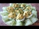 Фаршированные яйца с сыром БОМБА НА СТОЛЕ