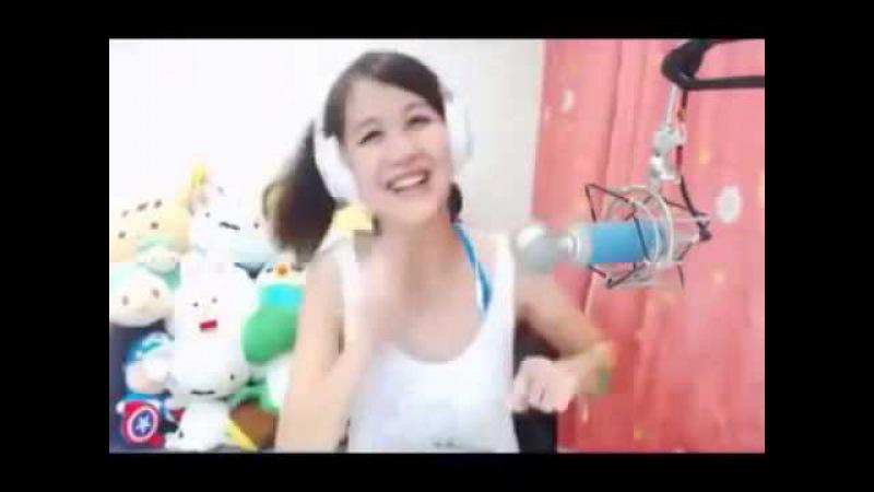 Песня цыпленок Пи на китайском Pulcino Pio in Chinese