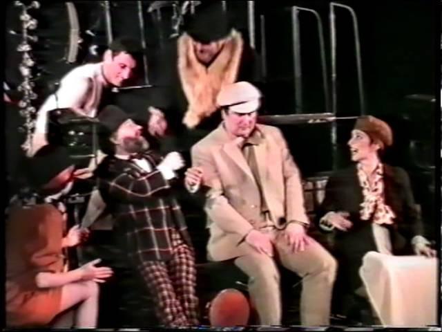 Московский Еврейский театр Шалом (худрук Александр Левенбук). Поезд за счастьем