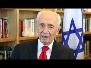 Former Israeli President Shimon Peres wishes Queen Elizabeth happy 90th birthday