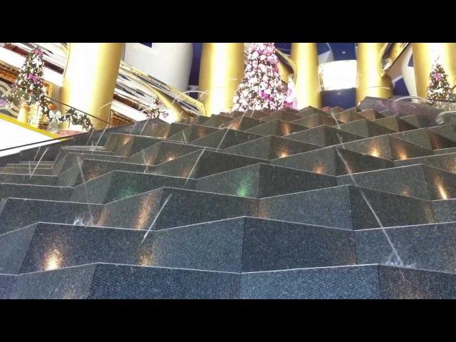 Burj Al Arab Hotel Lobby Fountain Dubai