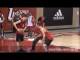 Rich Chambers - Full Court Man to Man Defense Basketball with Run &amp Jump