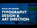 Graphic Design Tutorial: Typography Design Art Direction