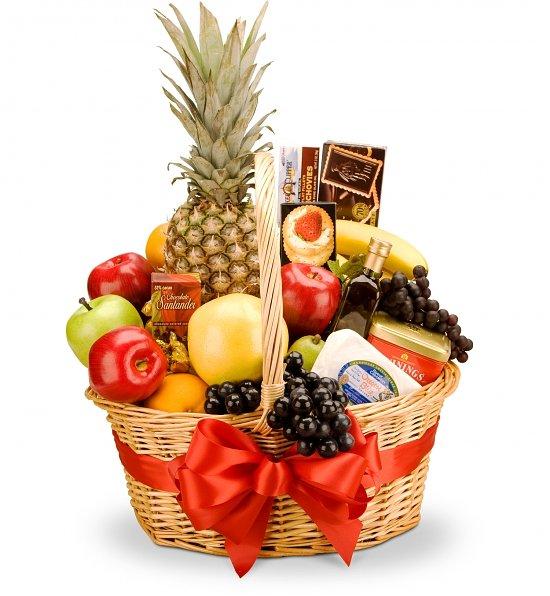 Корзины с фруктами в подарок 70