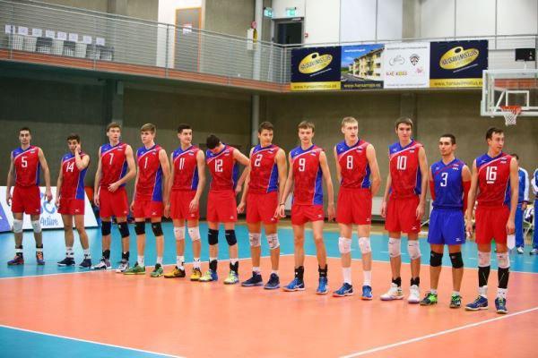 Сборная России U-18 - серебряный призер EEVZA