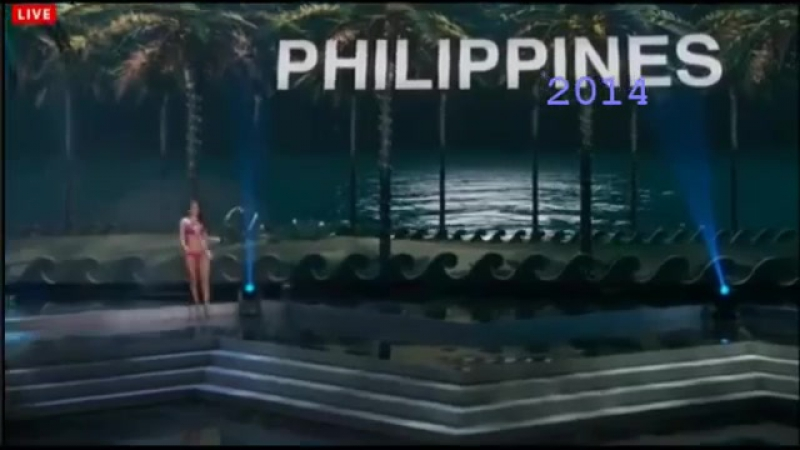 Miss Universe 2010-2017 Thailand Philippines Indonesia Malaysia Compilation