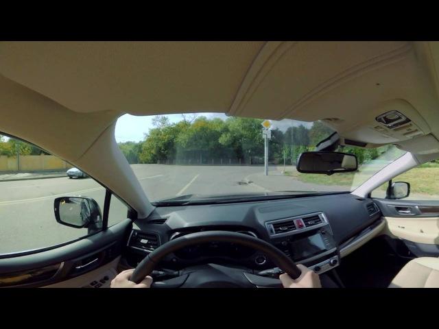 Subaru Outback 360 - всесторонняя безопасность
