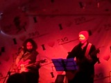 Евгений Звиденный (Сдвиг) и Юрий Цалер в FAQ-cafe в Москве