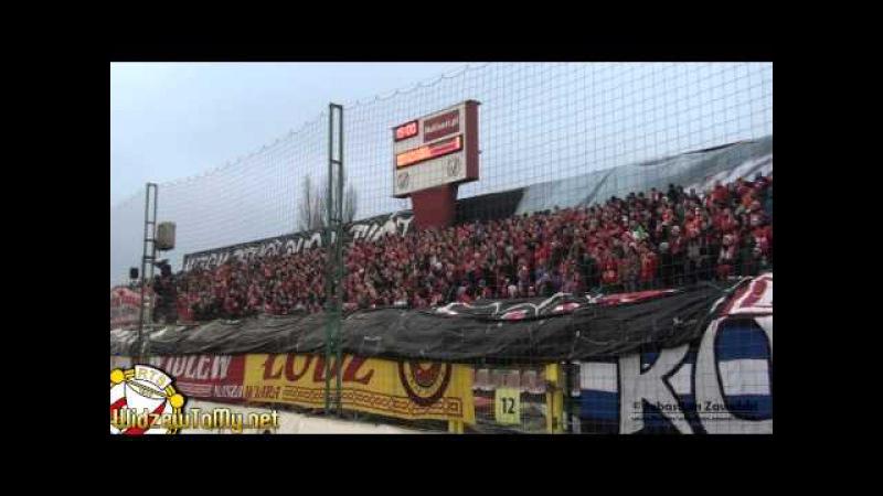 Widzew Łódź 1:1 Gieksa Katowice |22\11\2014| [Doping Kibicow Widzewa]