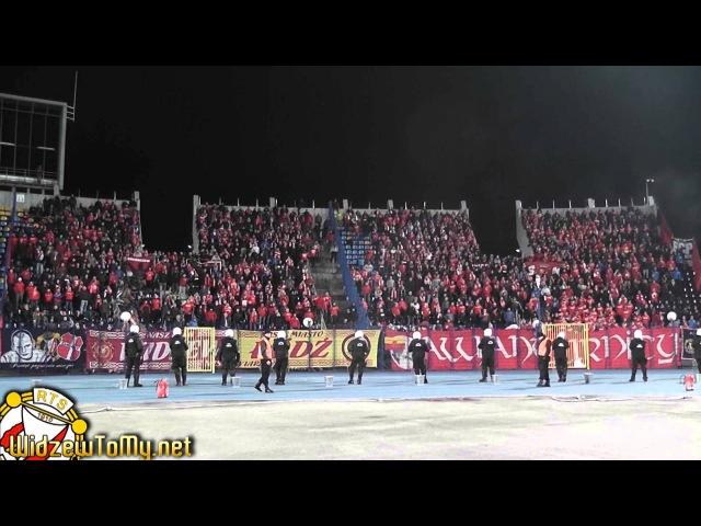 Zawisza Bydgoszcz 2:0 Widzew Łódź (23\11\2013) [Doping Kibicow Widzewa]