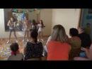 """Танец девочек. Концерт для родителей в лагере """"АБВГДейка"""", 2 летняя смена 2016г."""