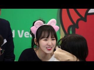 ⑵170113 레드벨벳(Red Velvet) 웬디(Wendy)직캠 레드나이츠 팬싸인회