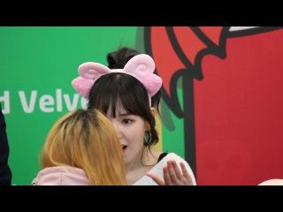⑴170113 레드벨벳(Red Velvet) 웬디(Wendy)직캠 레드나이츠 팬싸인회