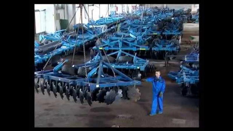 Компания АЛМАЗ отечественный производитель почвообрабатывающей техники