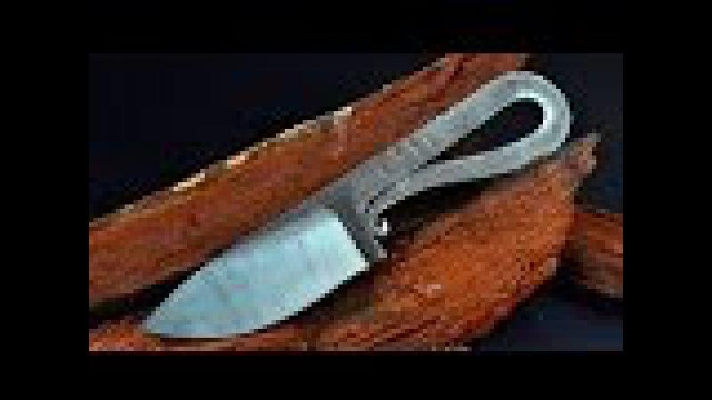 Eski Bir Demir Parçasından Keskin Bıçak Yapımı