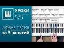 Аккорды на пианино 5 5 Играем песни изученными аккордами its