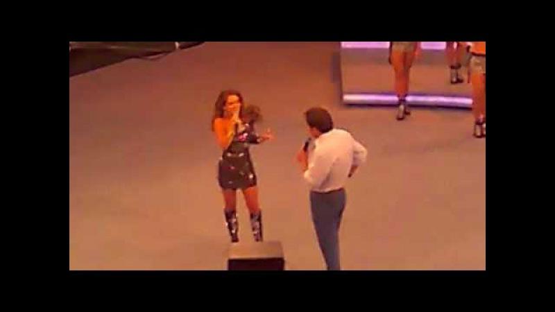 Cheias de Charme 2012 - Chayene no Domingão do Faustão 20/5/12