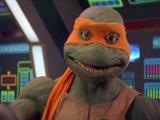 Teenage Mutant Ninja Turtles and Power Rangers Crossover Power Rangers in Space