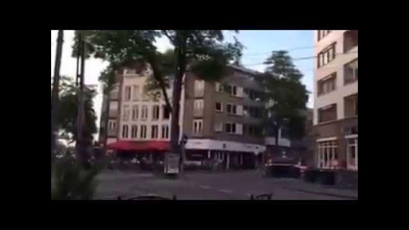 Amsterdamda insanlar aclıqdan pivə içirlər