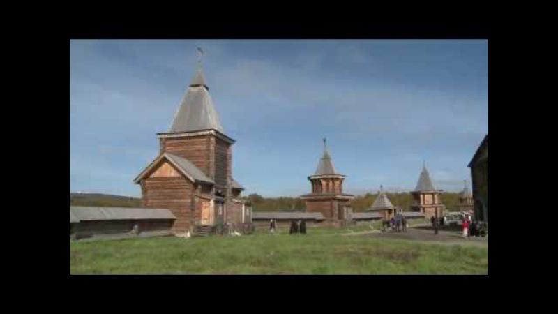 Патриарх Кирилл посетил Свято-Троицкий Трифонов Печенгский монастырь