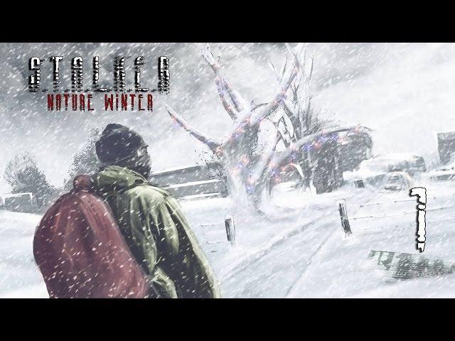 S T A L K E R Nature Winter Серия 1 Злая Холодная Зона