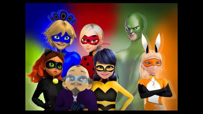 Miraculous Ladybug - Speededit: Gigantic Kwami Swap