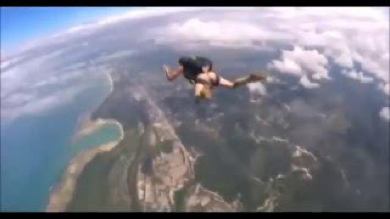 ЛУЧШИЙ ПРИКОЛ ЮТУБ Прыжок с парашютом БЕЗ ЦЕНЗУРЫ ПРИКОЛ 18 Море позитива
