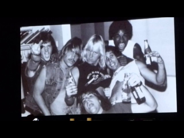 Jeff Hanneman Memorial Celebration ( Video Montage ) @ The Hollywood Palladium 5-23-2013