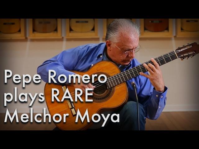 Pepe Romero - Tarrega Mazurka (1894 Hijos de Melchor Moya)