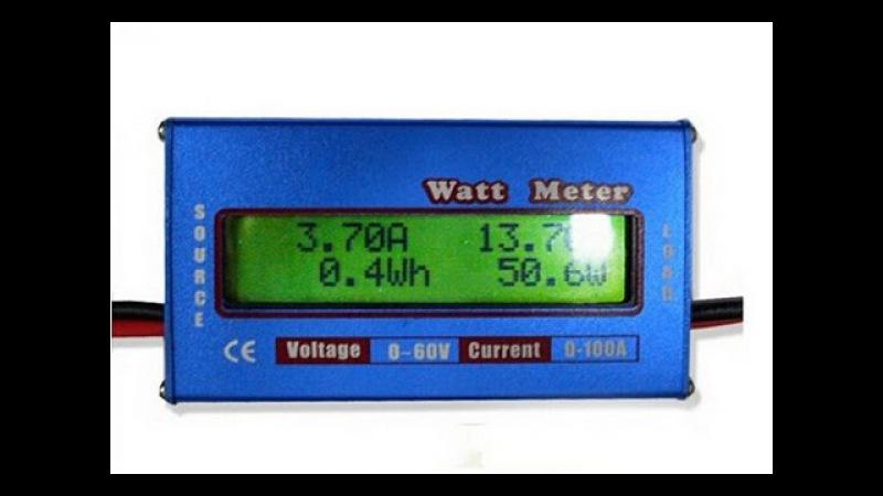 Ваттметр 60V 100A - обзор и доработки