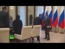 Путин встретился с семьей дагестанского полицейского расстрелянного боевиками 2016