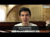 Easy French Correction Dictation 1 - Recontre avec la fleur