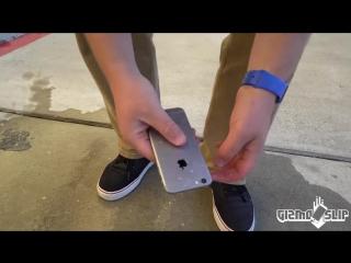 Экспериментатор. Может ли контрацепция защитить iPhone при падении с высоты 30 метров