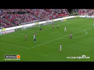 Атлетик - Валенсия 2:1. Обзор матча. Испанская Примера 2016/2017. 4 тур.
