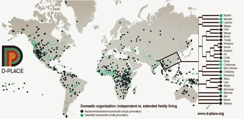 Глобальная база данных человеческих культур появилась в открытом доступе