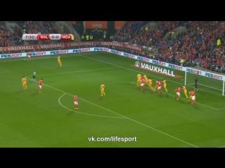 Уэльс 4:0 Молдова | Чемпионат Мира 2018 | Отборочный турнир | Обзор матча
