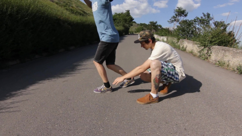 Как сделать тоесайд чек на лонгборде (How to Toeside Check on a longboard) | Антон Звягинцев