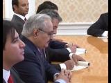 Встреча С.В.Лаврова и Х.Хафтара, Москва, 29 ноября 2016г